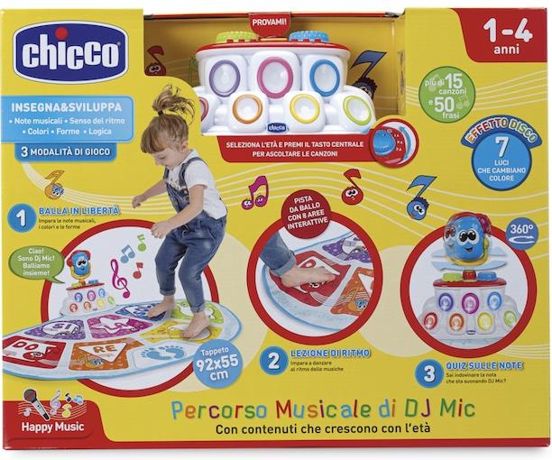 Игровой музыкально–танцевальный коврик