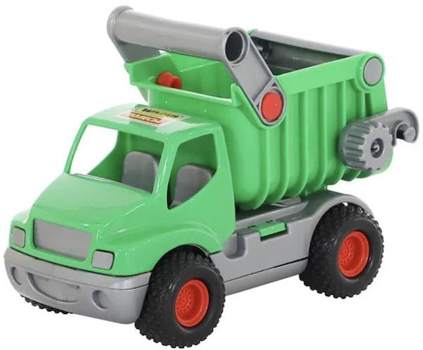 """Игрушка """"КонсТрак"""", автомобиль-самосвал зелёный (в коробке)"""