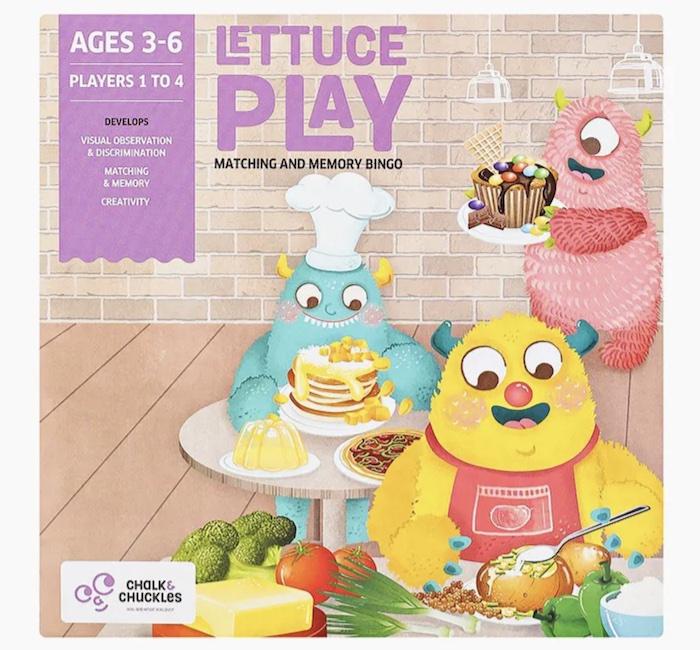 Настольная логическая игра Letuce Play