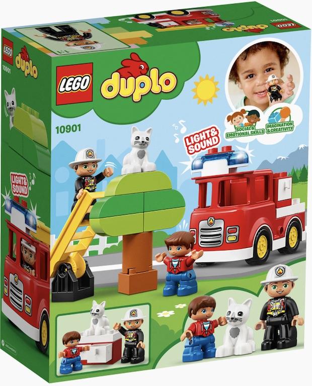 Конструктор Lego Duplo пожарная машина