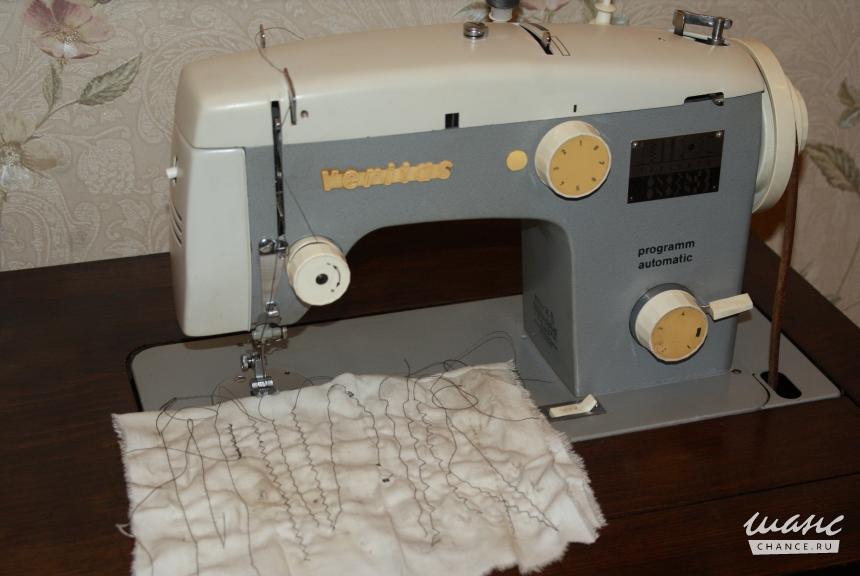Инструкция швейной машинки veritas