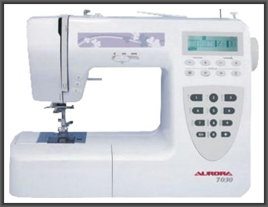 Швейная машина Aurora 7030