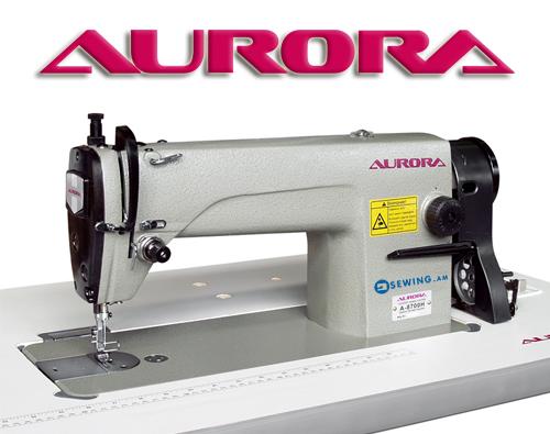 Швейные машины Aurora логотип