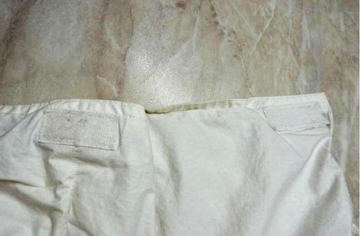 Пришивание липучек для фиксации одеяла внутри пододеяльника