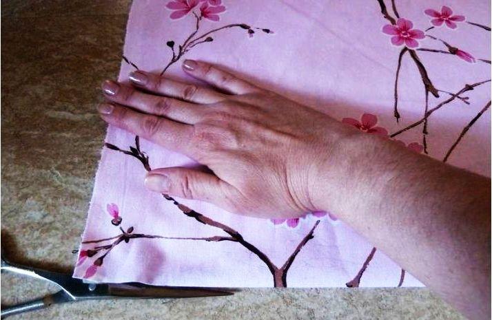 Заготовка под шитьё простыни