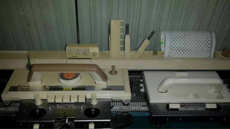 вязальная машина бразер kh 830