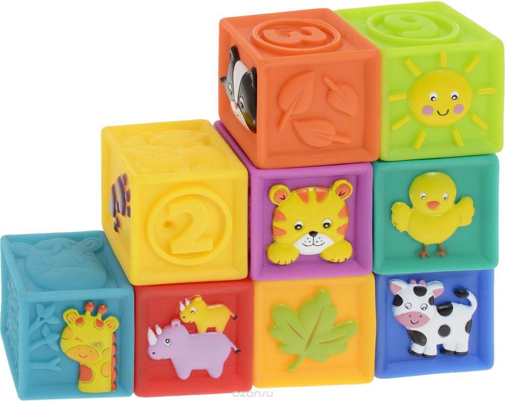 Подарок развивающие кубики