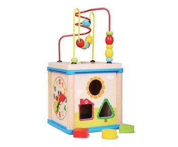 Деревянная игрушка игровой центр Суперкуб
