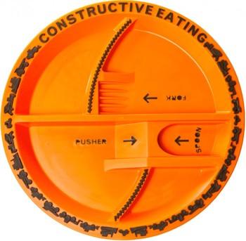Игрушка-тарелка Construction Plate
