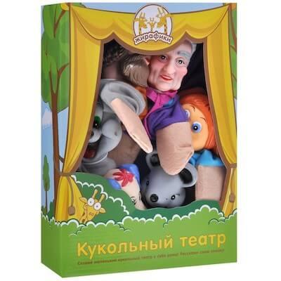 Кукольный театр Репка из 6 кукол