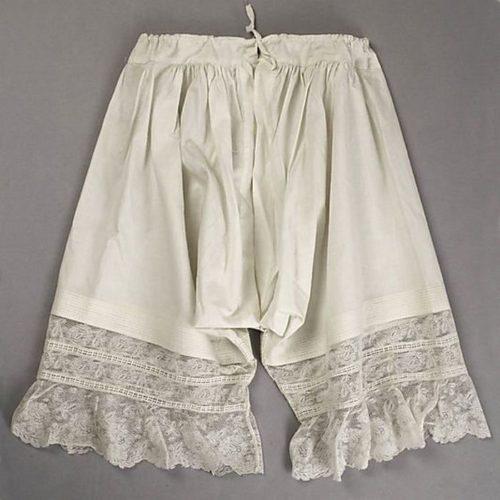 Первые панталоны конца 19 века