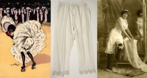 Приличные белые панталоны