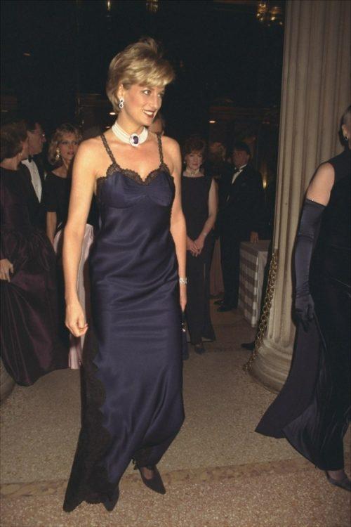 Платье-комбинация принцессы Дианы