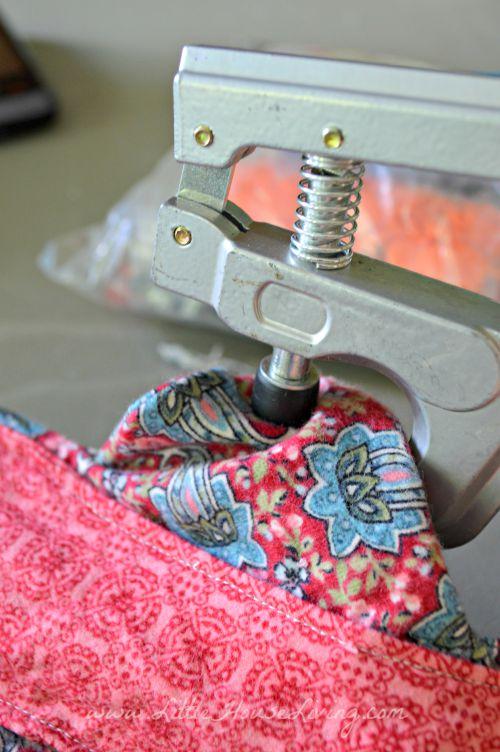 Сшивание крылышек по краям