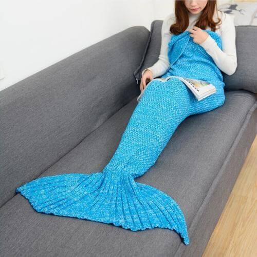 Одеяло «хвост русалки»
