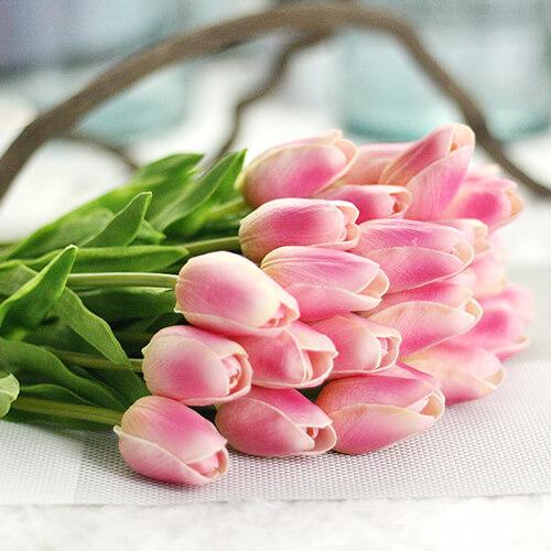 Декоративный цветок искусственный тюльпан