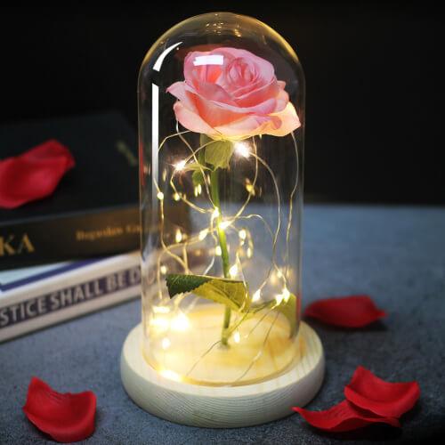 Светодиодный светильник роза Eternelle