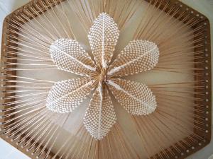 плетение и вязание кружева тенерифе на луме