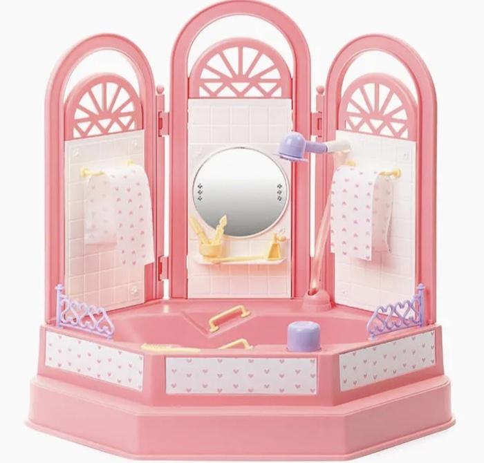 Игровой набор Ванная комната Огонёк