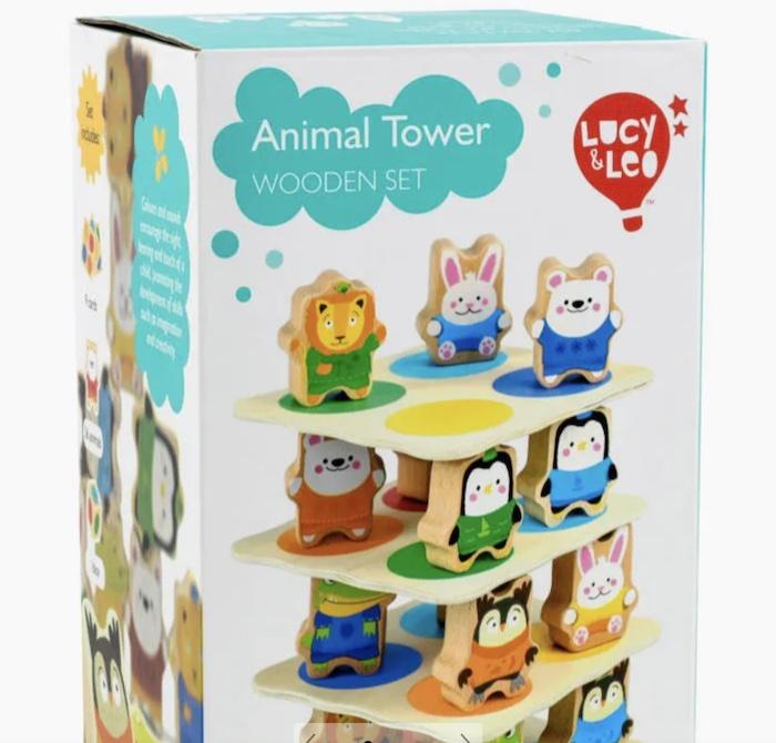 Игровой набор Звериная Башня