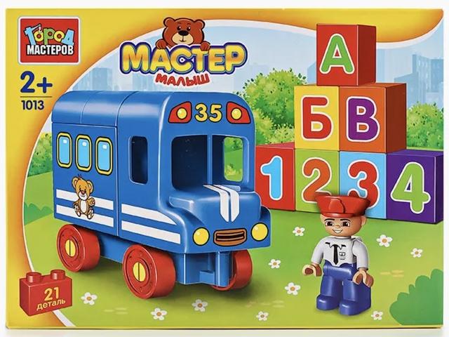 Конструктор Мастер Малыш Автобус