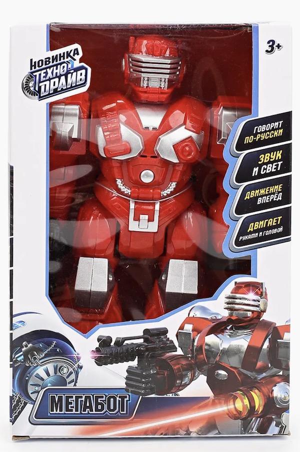 Красный робот Мегабот Технодрайв