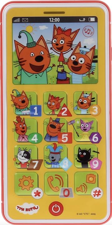 Обучающий телефон Три Кота