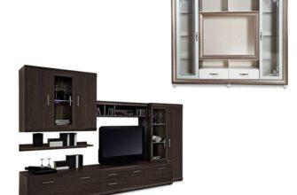 Пример мебельной стенки