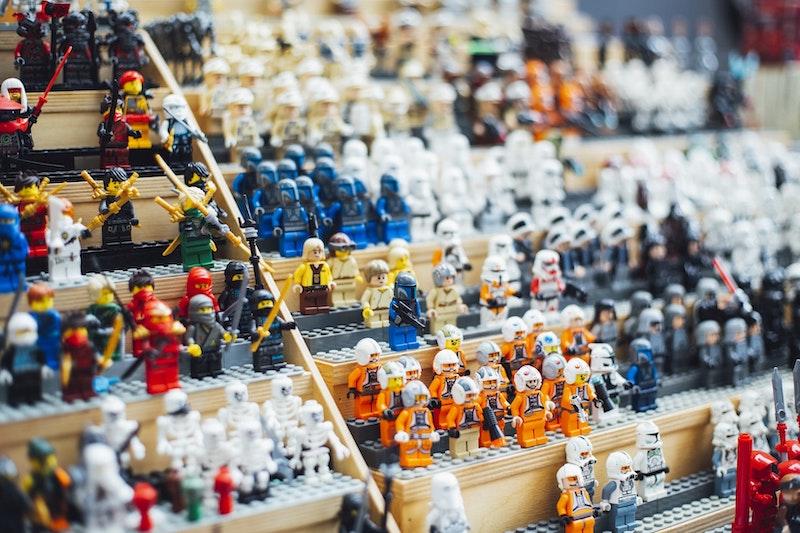 Коллекция фигурок Лего