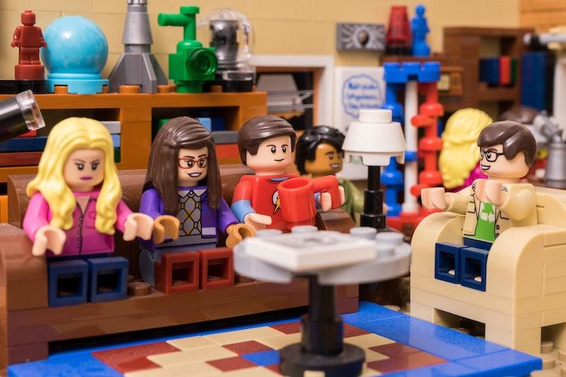 собранный конструктор Лего